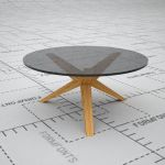 Conica coffee table by Skandiform