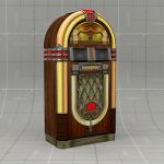 Generic Vintage Jukebox