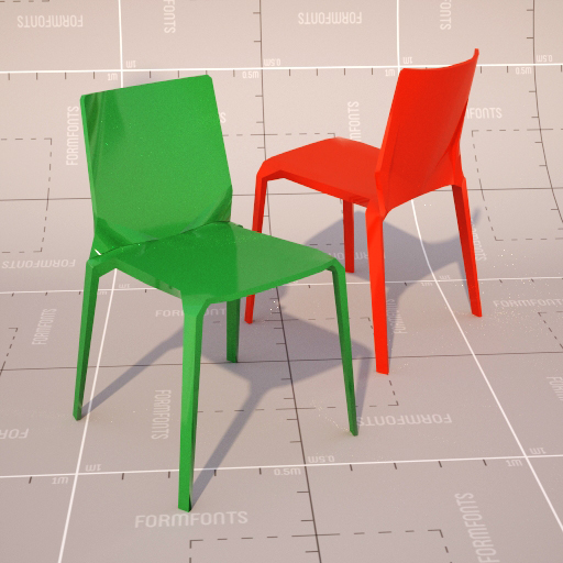 Plana Stacking Chair.