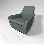 Amri Chair by Bernhardt Design. Revit 
