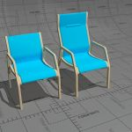 Kari X easy chairs, frame form pressed birch or be...