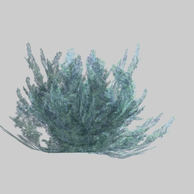 Low poly sagebrush.