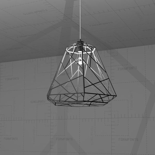 Wright Stuff Light Pendant, Revit 