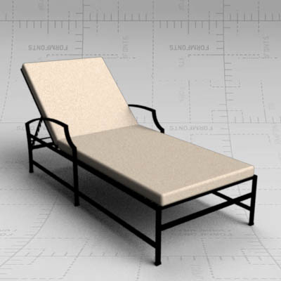 Carmel garden loungers by Restoration Hardware. La....