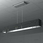 Crossroads Linear Suspension Lamp, 