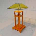 Table Lamp, Formats Available: 3DS, 