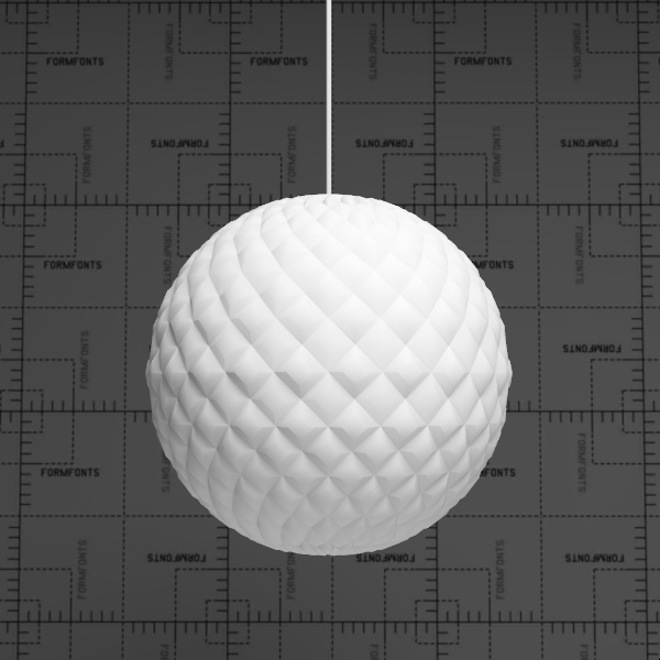 Patera pendant lamp by Louis 