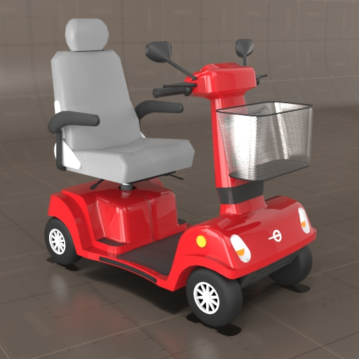 Generic Mobility Scooter.