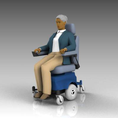 Elderly or disabled women with 