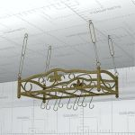 Bordeaux Hanging Iron Pot 