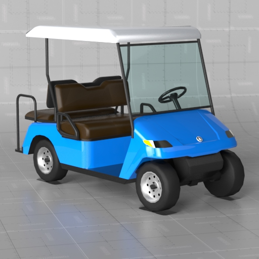 Generic Golf Cart.
