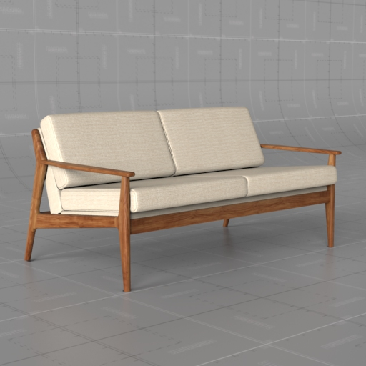 Mathias Mid Century Loveseat.