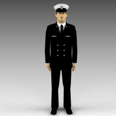 Royal Canadian Navy figures...dress 