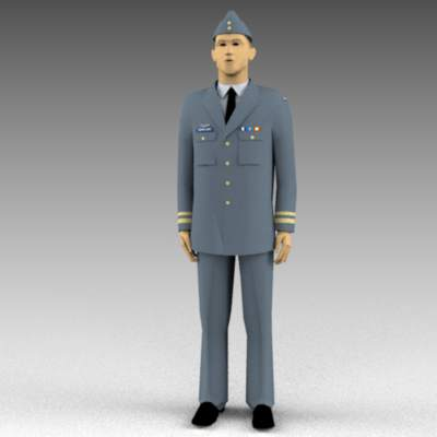 Royal Canadian Air Force dress 