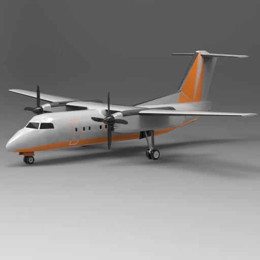 Bombardier Dash 8 Series 100.