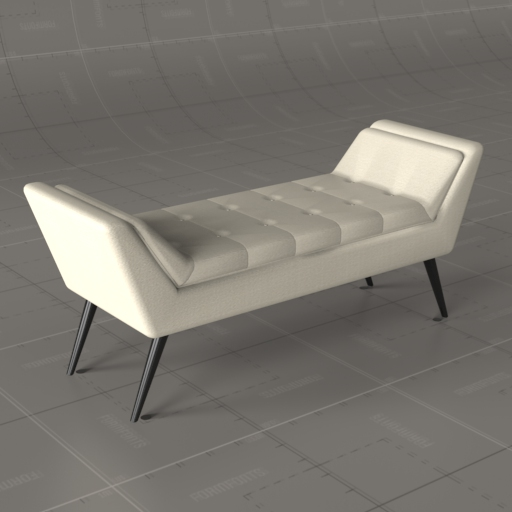 Baxton Upholstered Bench.