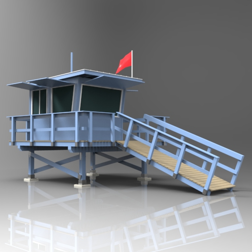 Generic american style lifeguard 