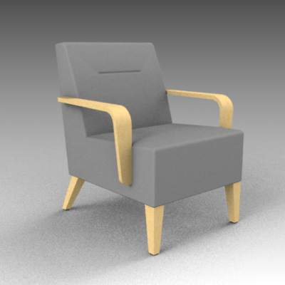 Geo armchair from Worden furniture. 