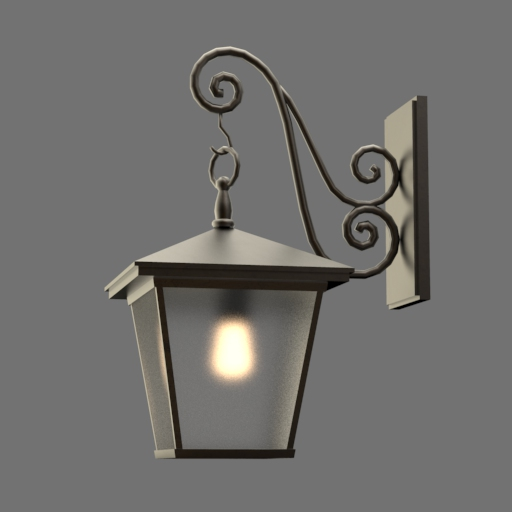 Trellis Outdoor Wall Sconce.