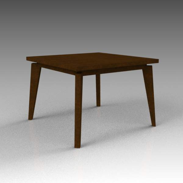 West Elm angled-leg, expandable 