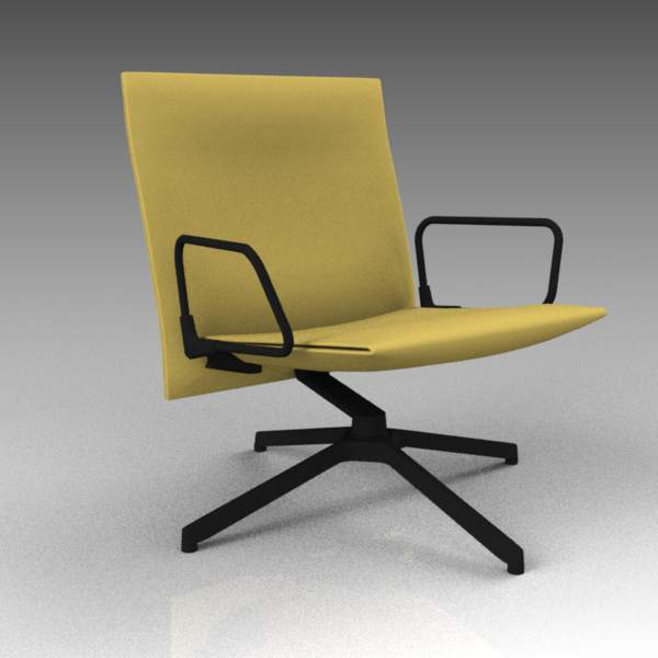 Knoll Pilot chair (low back) designed 