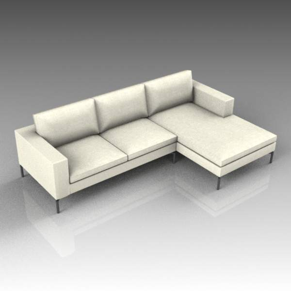 New Standard sofa and chaise end 