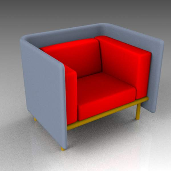 Floater armchair range from COR. 