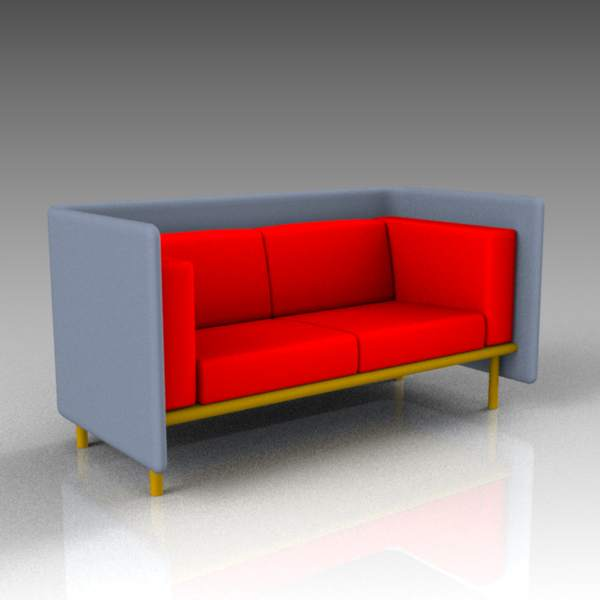 Floater 2 and 3 seater sofas from 