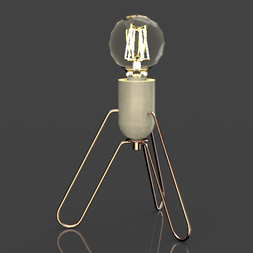 "Piccola 8,7"" desk lamp."