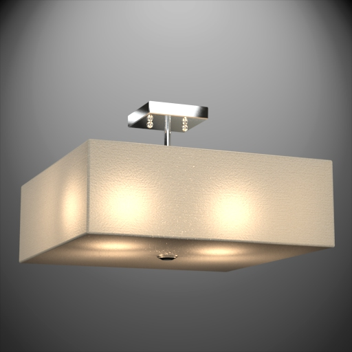 Holloway 3-Light Semi Flush Mount.