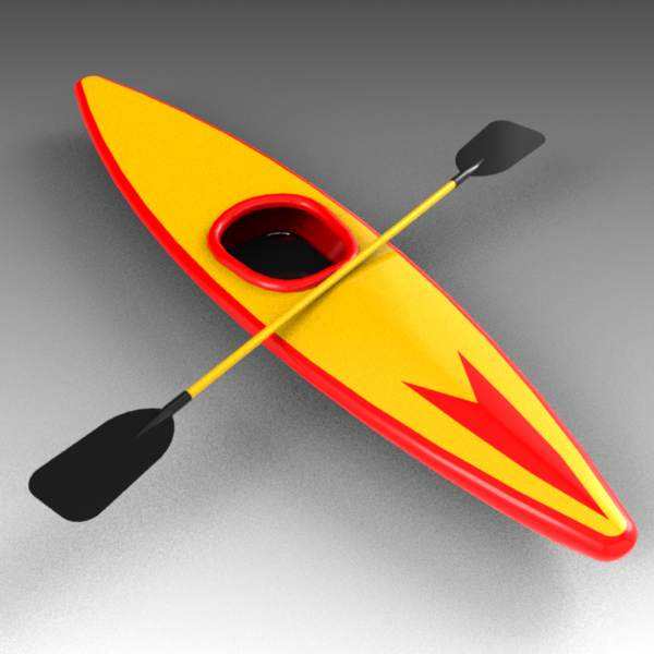 A selection of low-poly generic 