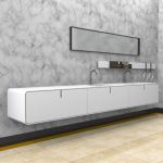 Ciclo double vanity unit by 