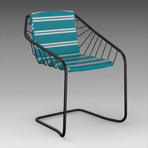 Cantilever Lounge Chair.