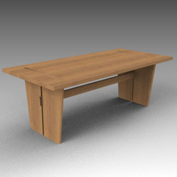 Sand dollar dining table and chairs 