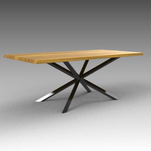 Oslo walnut dining table. Available 