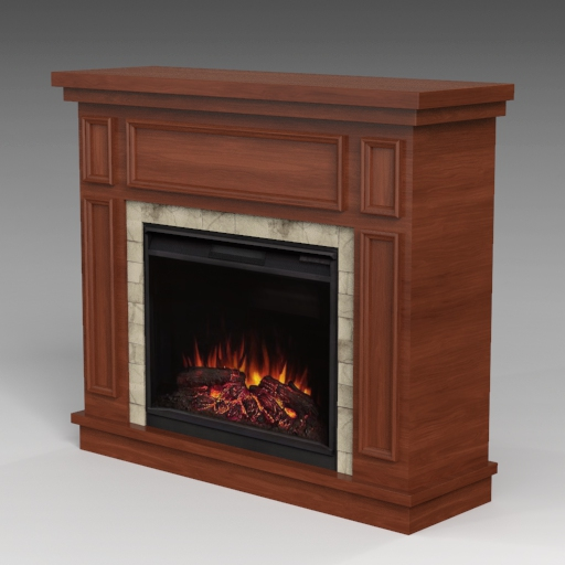 Granville Electric Fireplace Set.