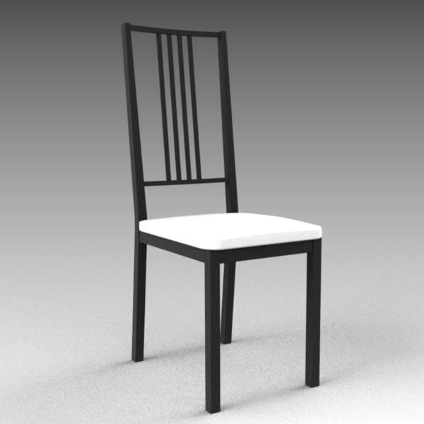 IKEA Borje chair in black and dark 