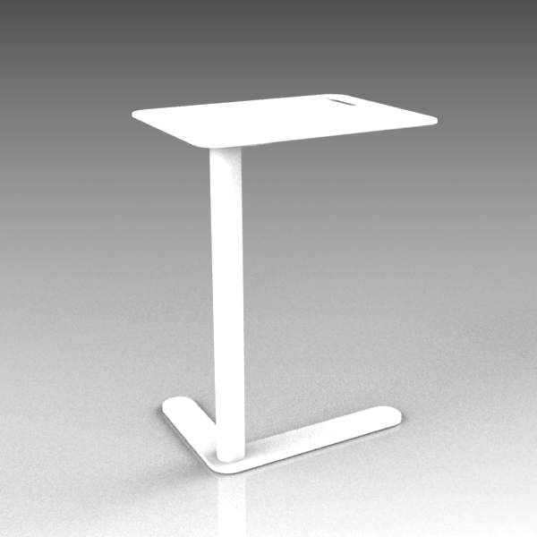 Trailer metal side table by Martela. 