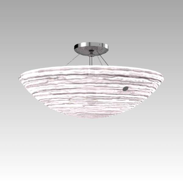 Trace flush fit ceiling light by Tech 