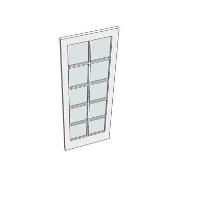 686 ISC door (ten glazed panels).