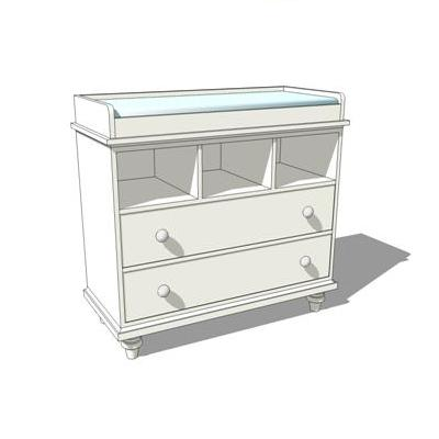 Baby Changing Table shown in white. Could be used ....