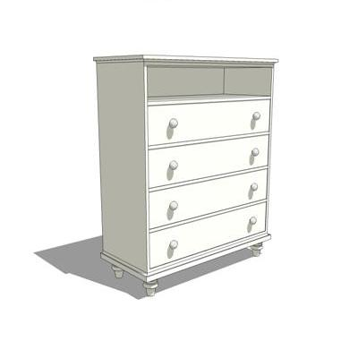 Baby Dresser shown in white. Could be used with th....