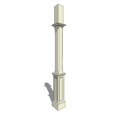 "PP712 porch post from Empire Woodworks - 96"" ...."