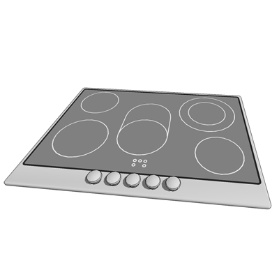 Smeg 752 72cm Evolution Ceramic Hob (cooktop).