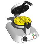 Waffle maker with non-stick surface. Make deliciou...