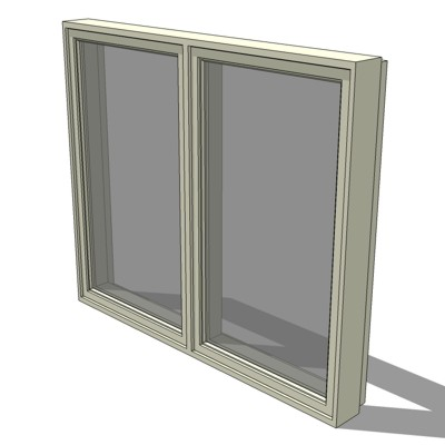 C2-Class DOUBLE Casement Window 200 Series by Ande....