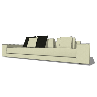 Idea One sofa range (four sizes) by MDF Italia, de....