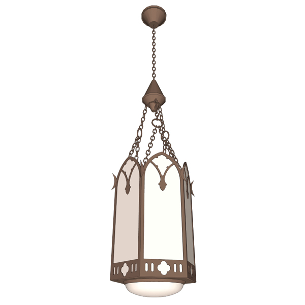 Gothic style pendant light. This model is part of ....