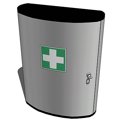 Stylish FirstAid kit for offices.