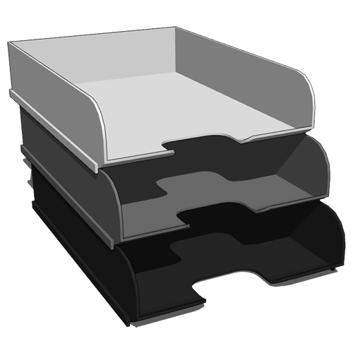 Office Paper Storage Equipment Set Includes A B